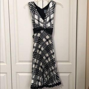 WHBM, Black and white dress